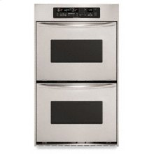 3.7 Cu. Ft. True Convection Upper & Lower Ovens Architect ® Series Double Oven 30 in. Width(Stainless Steel)