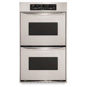 KitchenAid3.7 Cu. Ft. True Convection Upper & Lower Ovens Architect ® Series Double Oven 30 in. Width(Stainless Steel)