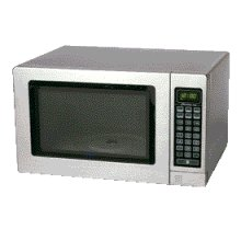 1.0 Cu. Ft. Family Size Oven Stainless Steel