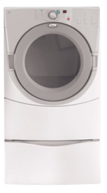 Pewter Whirlpool® Duet® Front-loading Electric Dryer