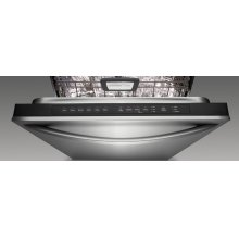 21.5 Cu. Ft. 32 1/2 in. Width Contoured Door Freezer-on-the-Top Freestanding Refrigerator Superba® Series(Black Cabinet/Stainless Steel Doors)
