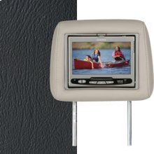 Dual Custom Headrest System with Built-in DVD Player. Chevy Avalanche, Silverado; GMC Sierra. The Color is Graphite.