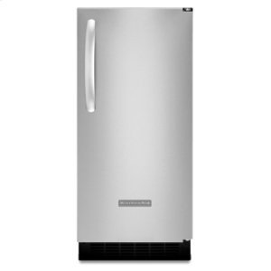 KitchenAidIce Maker 15 in. Width Right-Hand Door Swing 25-lb. Storage Capacity Stainless Steel Finish Architect® Series II(Stainless Steel)