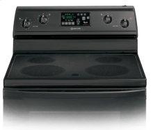 RF368LXPB0 - Black-on-Black 30-Inch Self-Cleaning Freestanding Electric Ceramic Glass Range