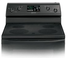 RF368LXPB0 - Black-on-Black 30-Inch Self-Cleaning Freestanding Electric Ceramic Glass Range