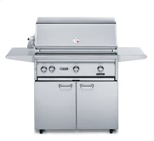 "36"" Free Standing Grill with Rotisserie (L36FR-1)"