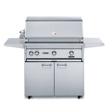 "36"" Free Standing Grill with 1 ProSear Burner and Rotisserie (L36PSFR-1)"