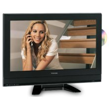 """23"""" Diagonal LCD Television with Built-in DVD Player"""
