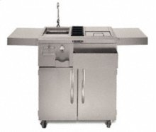 30 in. Refreshment Center Freestanding(Stainless Steel)