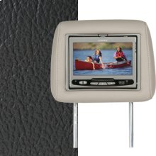 Dual Custom Headrest System with Built-in DVD Player. Chevy Trailblazer. The Color is Very Dark Pewter.