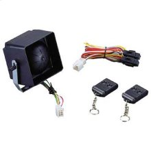 Self Contained Voltage Sense Remote Security System