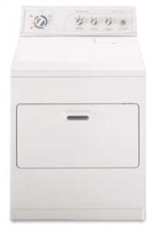 Super Capacity Plus 8 Automatic Cycles Electric Dryer(White-on-White)