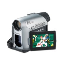 Mini DV Camcorder with 30x Optical Zoom.