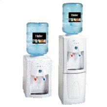 Combo Desktop/Free-standing Water Dispenser with Storage