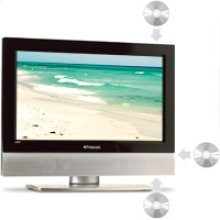 """32"""" HD-LCD TV/DVD Combo with High Definition ATSC Tuner"""