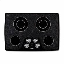 "30"" BLACK CERAMIC ELECTRIC MECHANICAL KNOBS COOKTOP"