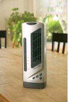 Compact Desktop Tower Fan with Ionizer Product Image