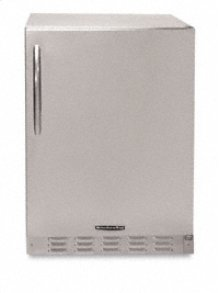 24 in. 6.0 Cu. Ft. Refrigerator(Stainless Steel)
