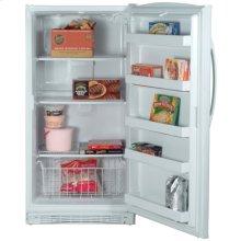 White-on-White 15.8 Cu. Ft. Upright Freezer