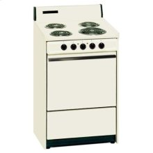 SUMMIT SEM611 is a 24 inch all-electric (220V) range with large deep oven. Made in USA