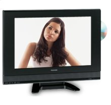 "19"" Diagonal LCD Television with Built-in DVD Player"