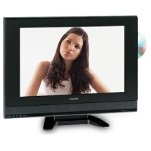 """19"""" Diagonal LCD Television with Built-in DVD Player"""