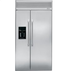 """Monogram® 42"""" Professional Built-In Side-by-Side Refrigerator"""
