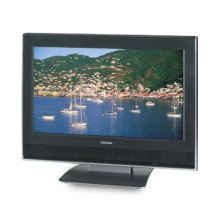 """23"""" Diagonal LCD HD Monitor Television with Built-in DVD Player"""