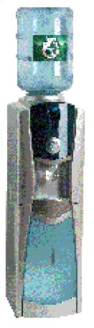 Water Dispenser with Storage Compartment Product Image