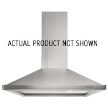 Island-Mount 600 CFM Exhaust Rating 36 in. Width Canopy(Biscuit)