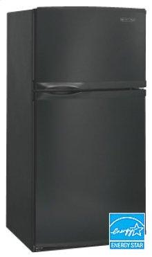 21.5 Cu. Ft. 32 1/2 in. Width Contoured Door Freezer-on-the-Top Freestanding Refrigerator Superba® Series(Black)