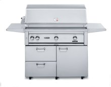 "42"" Free Standing Grill with 1 ProSear Burner and Rotisserie (L42PSFR-1)"