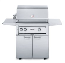 "30"" Free Standing Grill with 1 ProSear Burner and Rotisserie (L30PSFR-1)"