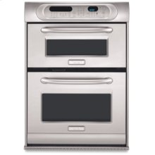 1.4 Cu. Ft. Microwave 3.7 Cu. Ft. Ultima Cook™ Specialty Lower Oven PRO LINE® Series Oven/Microwave Combination 30 in. Width(Stainless Steel)