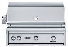 """36"""" Built-in Grill with 1 ProSear Burner and Rotisserie (L36PSR-1)"""