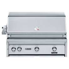 "36"" Built-in Grill with 1 ProSear Burner and Rotisserie (L36PSR-1)"