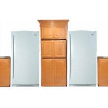 White-on-White 35.4 Cu. Ft. SideKicks Refrigerator/Freezer