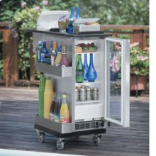 Marvel Bar Caddy with Ice Chest - 3BCS