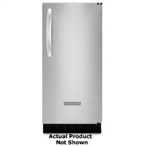 KitchenAidIce Maker 15 in. Width Left-Hand Door Swing 25-lb. Storage Capacity Stainless Steel Finish Architect® Series II(Stainless Steel)