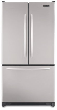 19.8 Cu. Ft. 35 5/8 in. Width Counter-Depth French-door Freezer-on-the-Bottom Refrigerator Architect® Series(Stainless Steel)