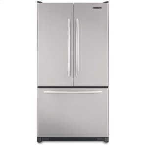 KitchenAid19.8 Cu. Ft. 35 5/8 in. Width Counter-Depth French-door Freezer-on-the-Bottom Refrigerator Architect® Series(Stainless Steel)