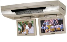 Complete Overhead System with Dual 8.5 Inch Swivel Screens