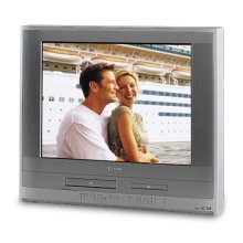 """27"""" Diagonal Progressive Scan FST PURE® TV/DVD/VCR Combination"""