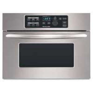 KitchenAid24 in. Built-In Microwave Oven Includes 27 in. & 30 in. Trim Kits(Stainless Steel)