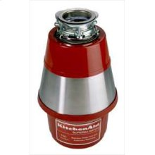 1 HP Motor 60 oz. Chamber Capacity Batch Feed Disposer High Polish Stainless Steel Sink Flange