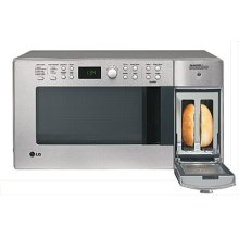 Combination Microwave Oven and Toaster