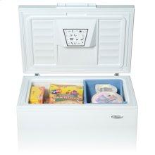 White-on-White 7.0 Cu. Ft. Chest Freezer
