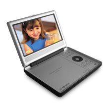 "7"" Diagonal Portable DVD Player"