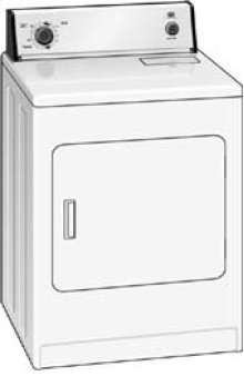Roper Extra Large Capacity Electric Dryer
