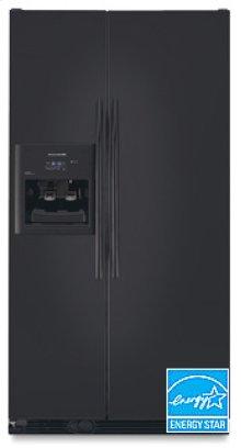 23 Cu. Ft. Superba® Counter-Depth Freestanding Refrigerator Trimless Colored Doors Contoured Handles(Black)